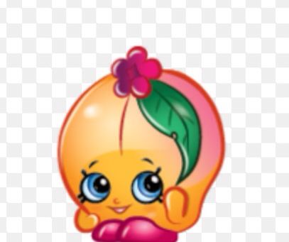 Peachy-common shopkin from ALL NEW SEASON 3!!! In stores June 1st, 2015!!!!!!!!