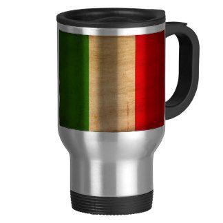 Drapeau de l'Italie Tasses À Café