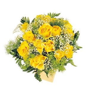 Bouquet rose gialle - consegna fiori a domicilio