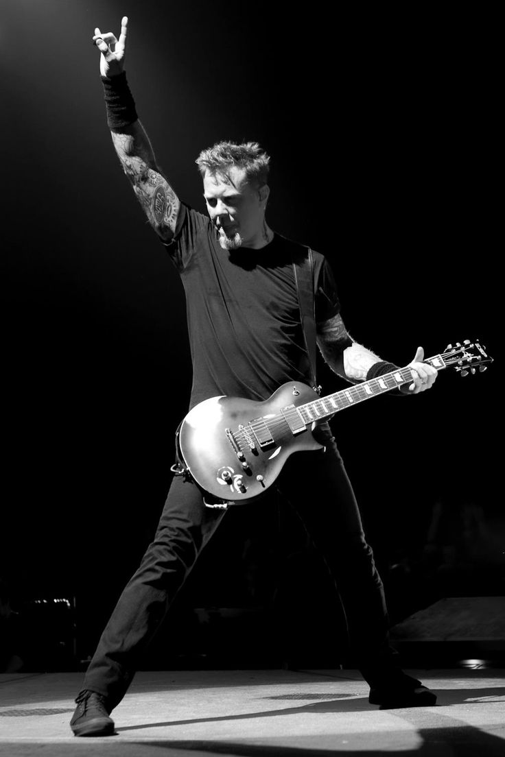 James Hetfield from Metallica