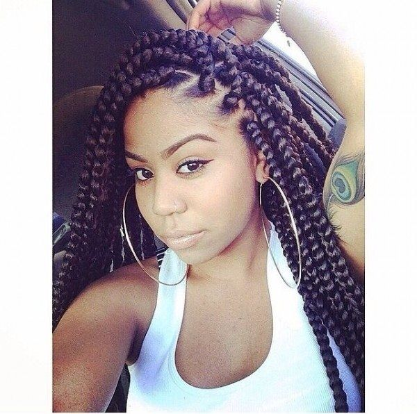 Awesome 1000 Ideas About Poetic Justice Braids On Pinterest Box Braids Hairstyles For Women Draintrainus