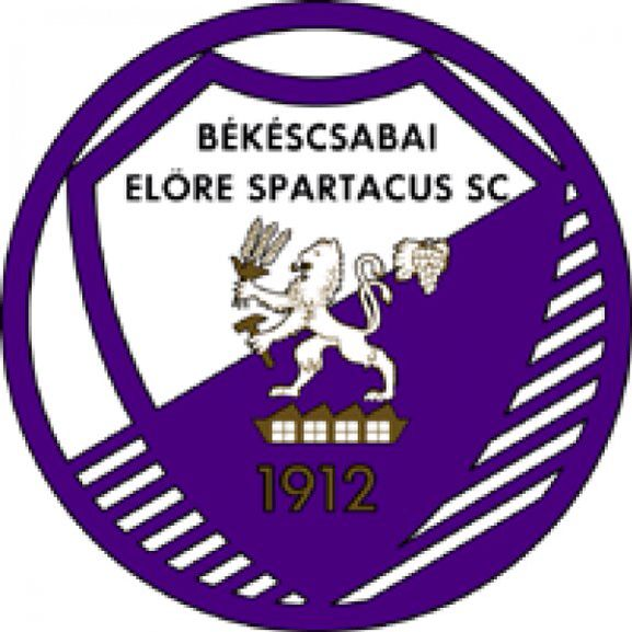 Békéscsaba sports club - logo from yesteryear. 'I am Spartacus!'