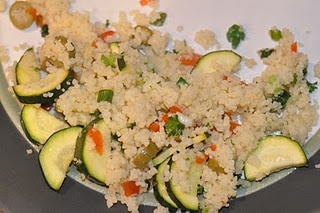 Zucchini-Olive Couscous | Storybook Reality Recipes | Pinterest ...