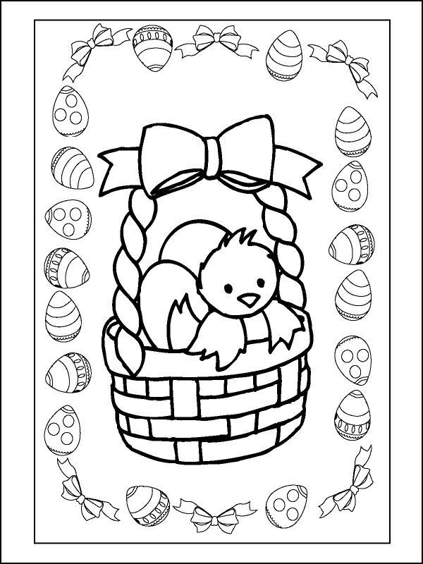 Easter Colouring Pages For Kindergarten : 185 best * pasen: kleurplaten! images on pinterest