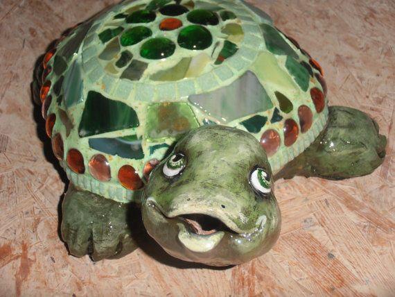 Bonny die Schildkröte Mosaik von AtelierEinzigARTig auf Etsy