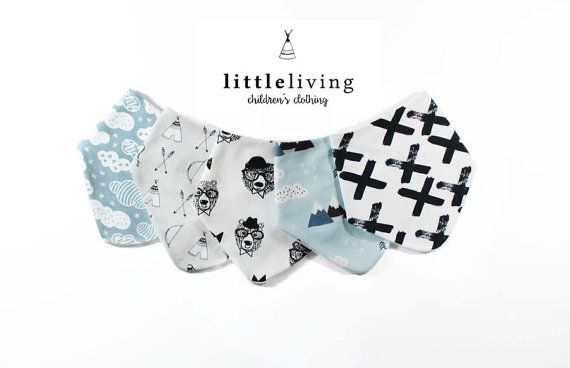 Dribble Bibs Bibdana - littlelivingshop - £6 each