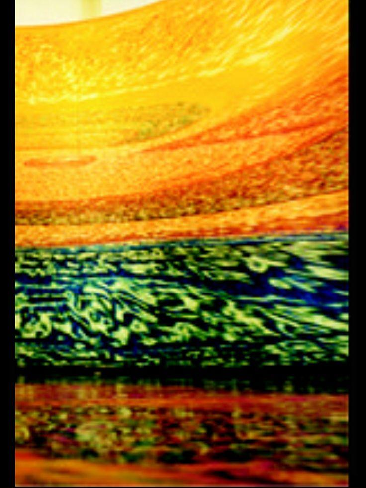 """Carina Aprile, """" LA CASA TOMADA"""" - omaggio a Julio Cortázar.  Una """"Casa"""" per immergersi in un'opera pittorica ideata e realizzata da Carina Vanesa Aprile nel 2001 in Italia:""""... Una pittura cilindrica, sorretta da una tensostruttura, nella quale il fruitore non è più spettatore ma si integra in essa vivendola dall'interno nella sua tridimensionalità..."""" © Carina Aprile"""