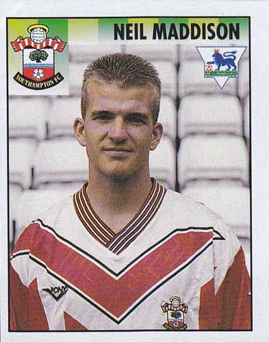 Neil Maddison. At Saints from 1988 - 1997.