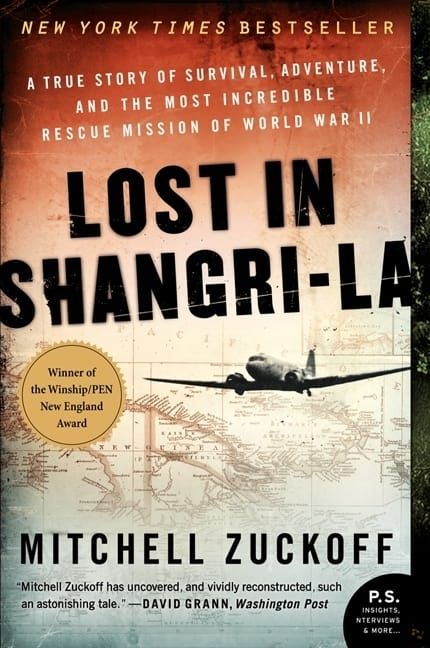 Award-winning former Boston Globe reporter Mitchell Zuckoff unleashes the exhilarating, untold story of an extraordinary World War II rescue mission, where a plane crash in the South Pacific plunged a trio of U.S. military personnel into a land that time forgot. A riveting work of narrative nonfiction that vividly brings to life an odyssey at times terrifying, enlightening, and comic, Lost in Shangri-La is a thrill ride from beginning to end.