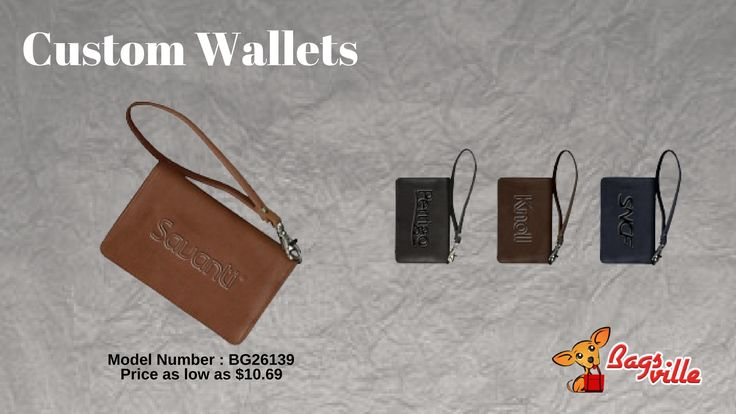 What Makes Custom Wallets Great Holiday Gifts?   #CustomWallets #PromotionalProducts
