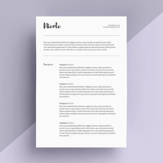 28 best Resume \/ CV Design images on Pinterest Cover letter - how to make a cover page