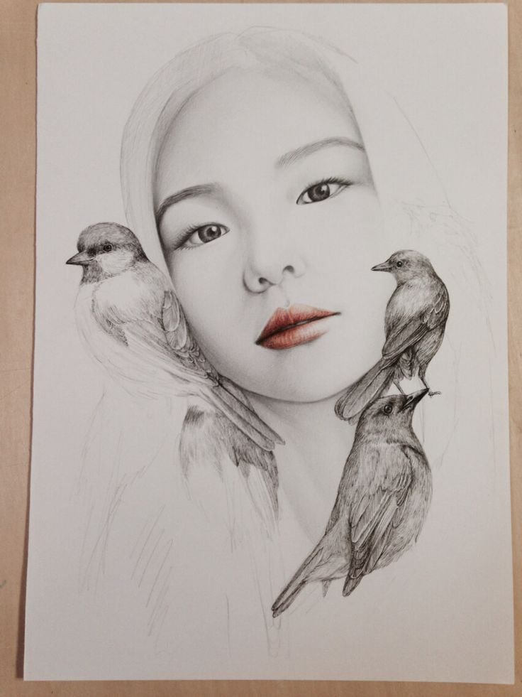 Beautiful Portrait Illustrations16