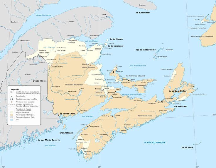 Histoire de l'Acadie — Wikipédia