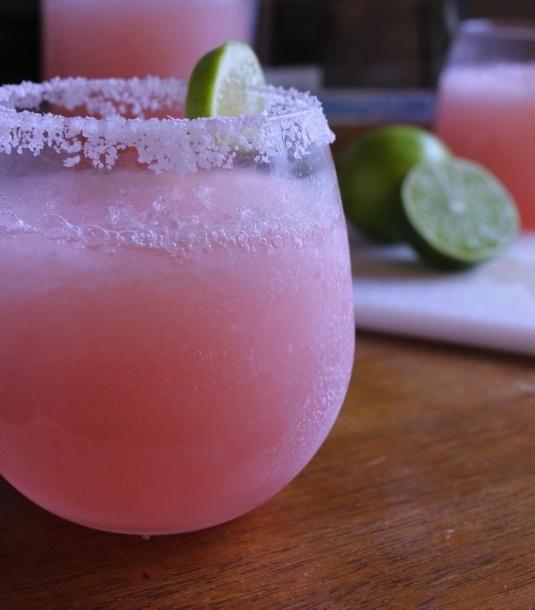 pink margaritas...