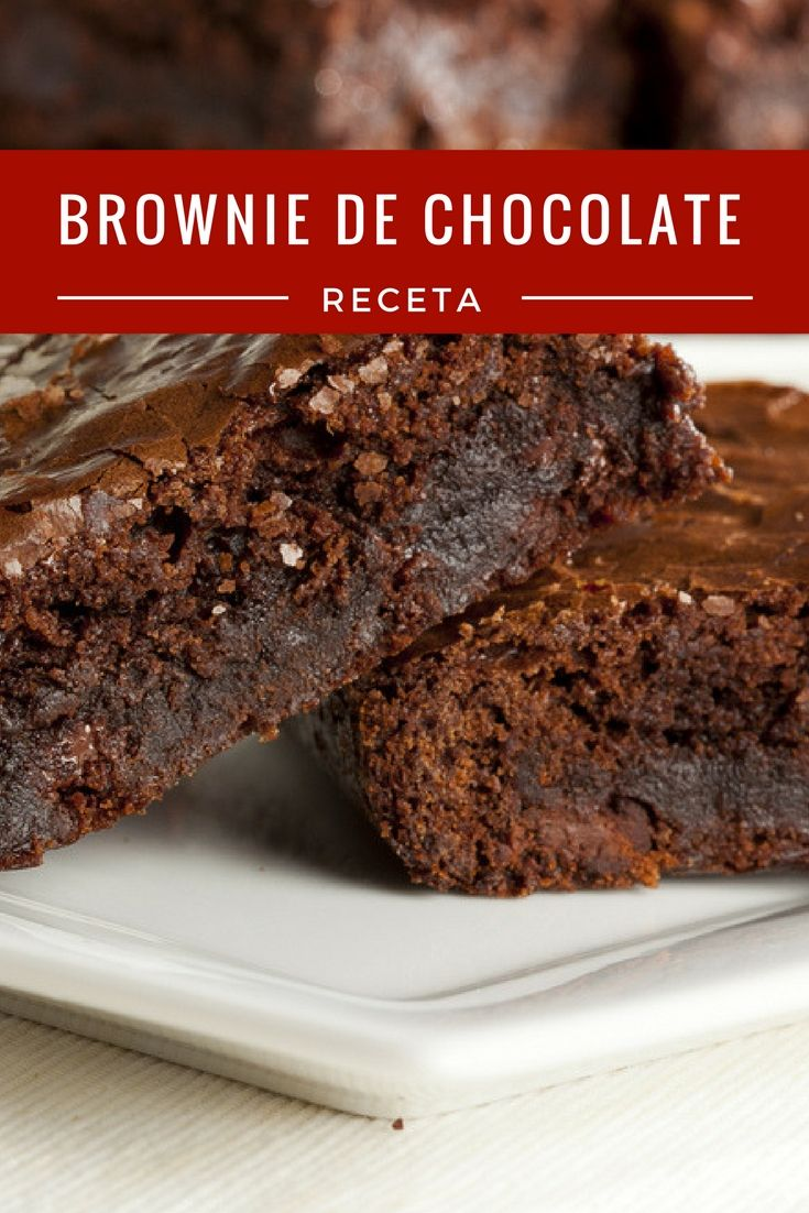 Parte de Nuestra Adicción al Chocolate se la debemos a los Brownies de Chocolate. Conoce la mejor receta americana de todos los tiempos.