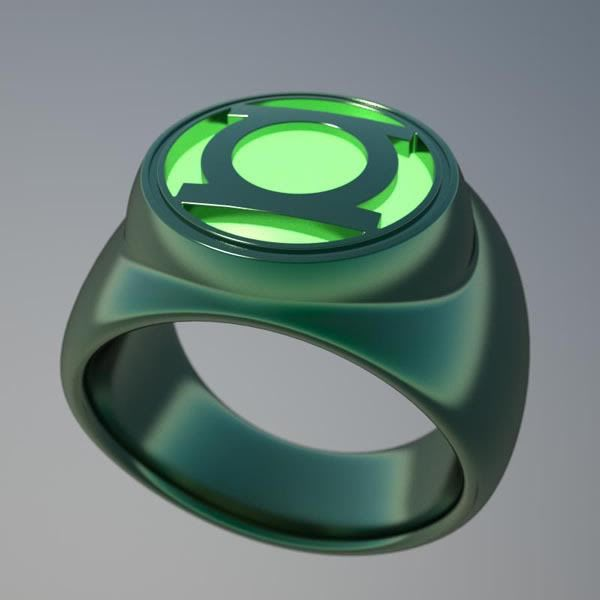 Green Lantern Ring. Sometimes I wished when chris proposes to me its with the power ring. And give me the real ring at the wedding. Lol