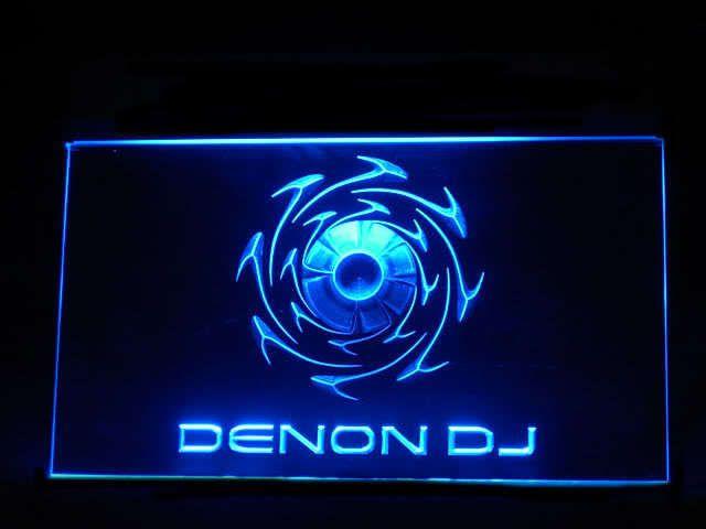 Denon DJ LED Light Sign www.shacksign.com