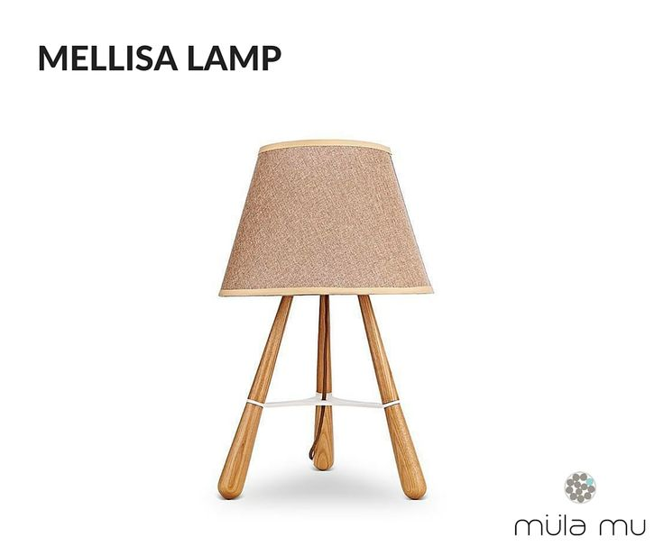 The MELLISA LAMP is an uncomplicated work of art. This fully wooden piece is held up by a tripod stand and is a natural and industrial addition to any space. From the bedroom to the living room, one can't get any closer to nature than this.  Dimension: 380 x 380 x 560 mm  *Price does not include light bulbs. http://www.mulamu.com/product/mellisa-lamp/