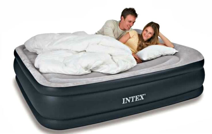 Air Mattress Bed Queen Sized Inflatable, Deluxe Air Bed Queen Size