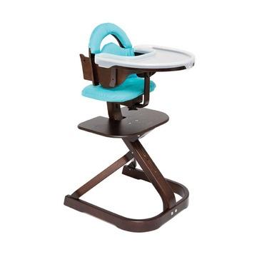 Svan Signet Complete Wooden High Chair. Lime Green ...
