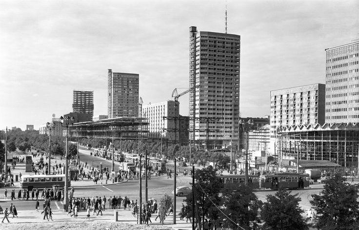 Warszawa na zdjęciach sprzed pół wieku