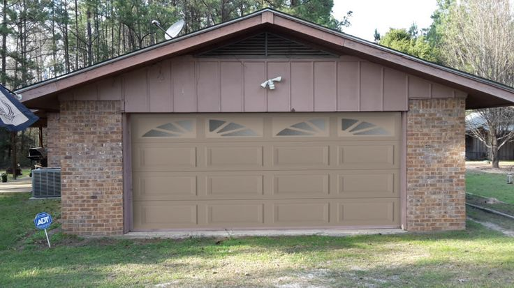 Take a look at my garage door project that I created with Raynor Design a Door.