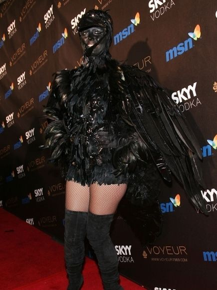 This woman is awesome! Check out her skinless costume at the end of the list, so freakin cool! 2009 | Heidi Klum's Crazy Halloween Costumes Through The Years