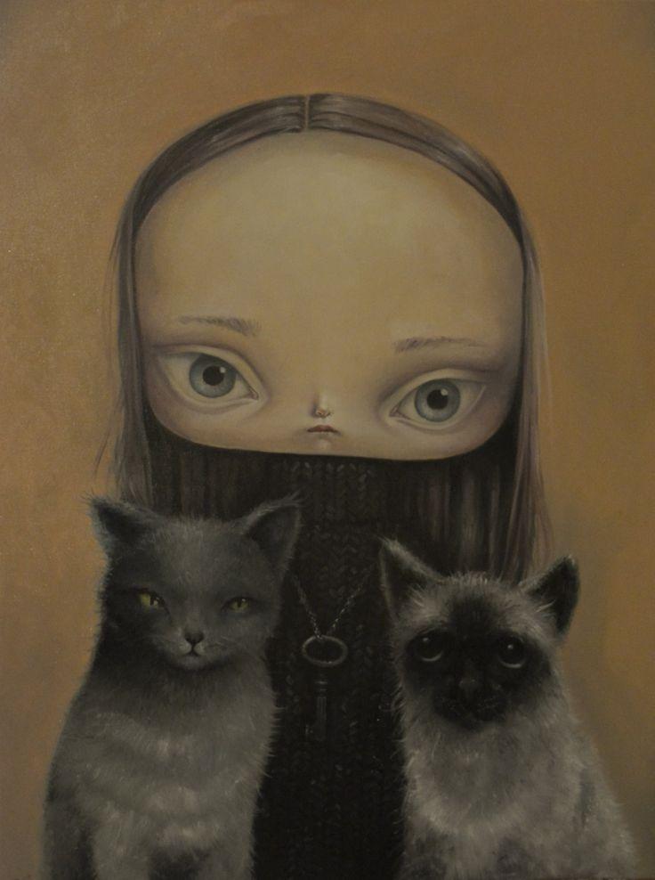 Бесконечная грусть в глазах / Paulina Gora