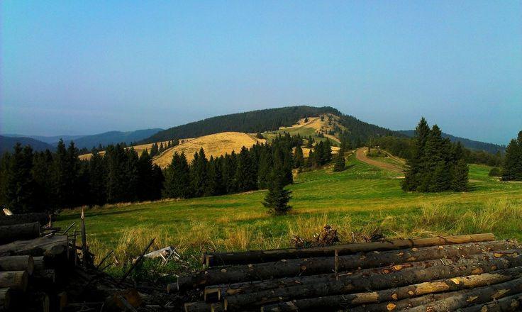 Levočské vrchy z Čiernej Hory