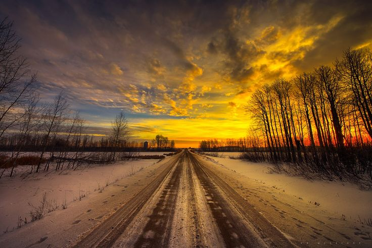 Photo Morning Road by Ian McGregor on 500px