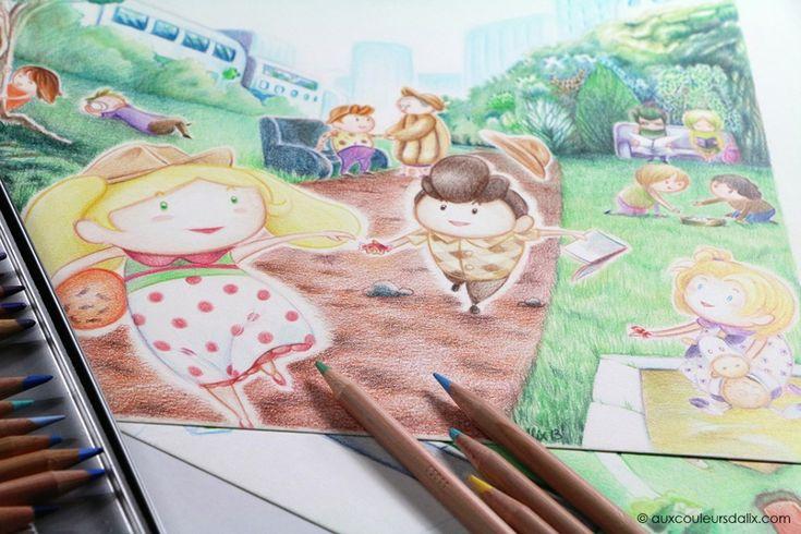 Le crayon de couleur professionnel : Luminance 6901 de Caran d'Ache