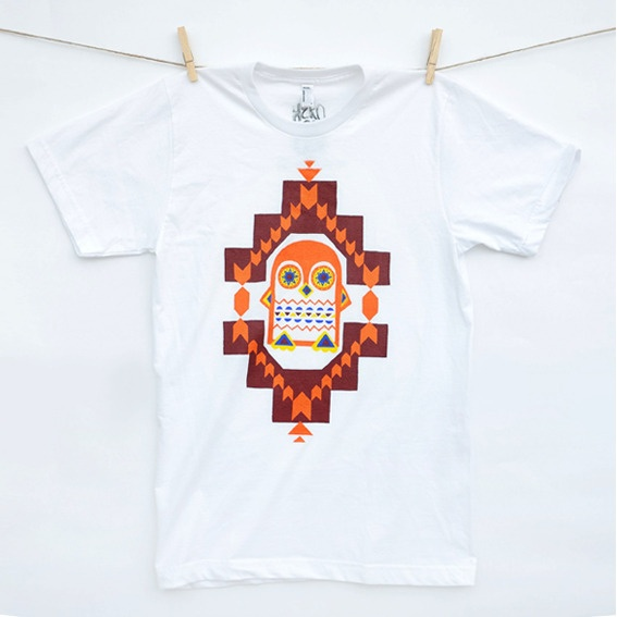 Aztec Penguin T-Shirt