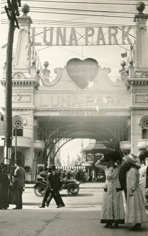"""""""Luna Park - The Heart of Coney Island"""", early 1900s"""