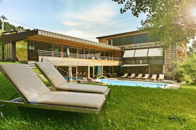 Yoga & Ayurveda, Hotel aus Holz in Österreich - Nähe Allgäu | Chesa Valisa