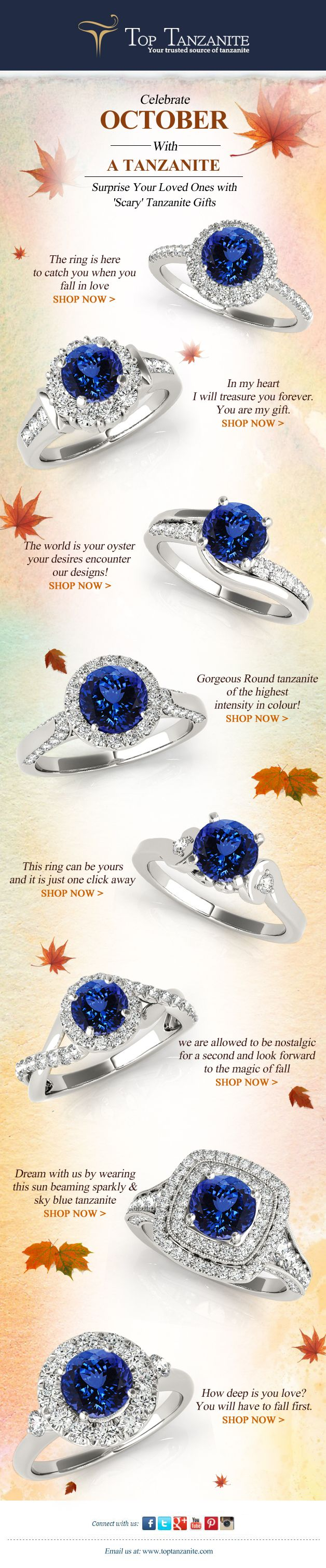 surprise your loved ones with scary tanzanite jewelry on this halloween this article if for most delightful halloween jewelry ideas - Article About Halloween