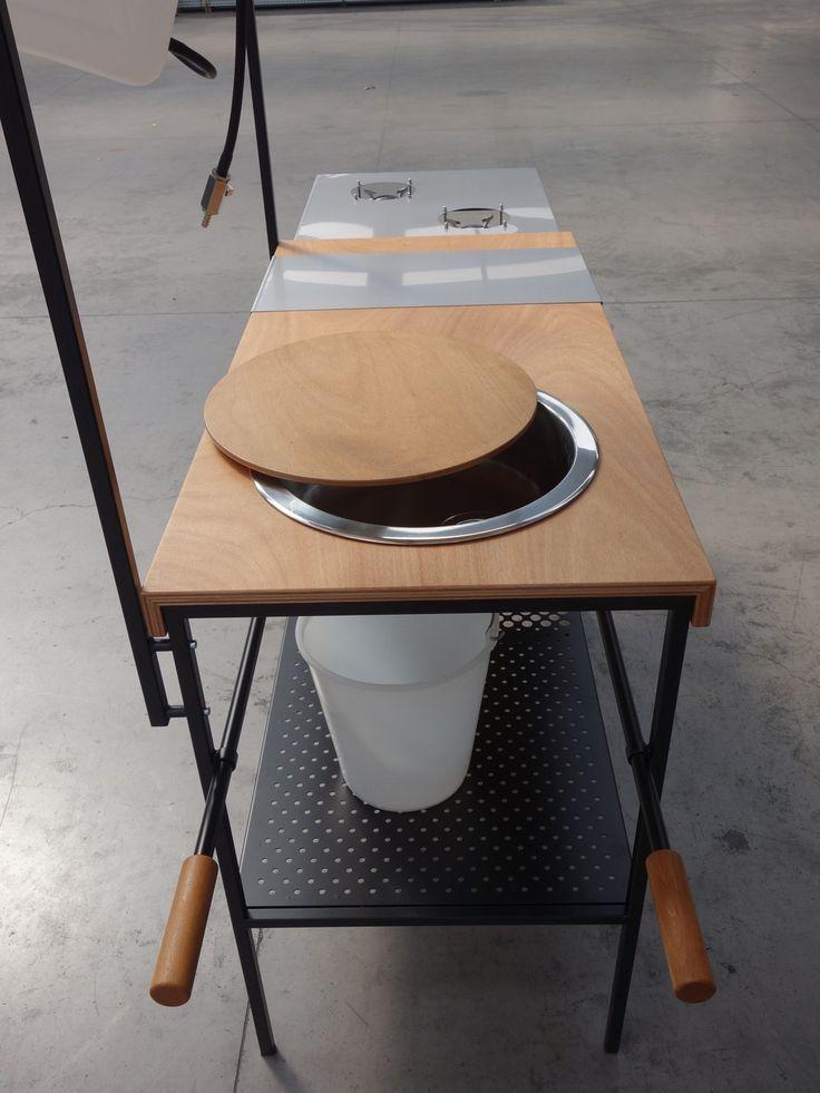 Mobile kitchen Q-CINA by Officine Tamborrino Design MoMAng Design ...