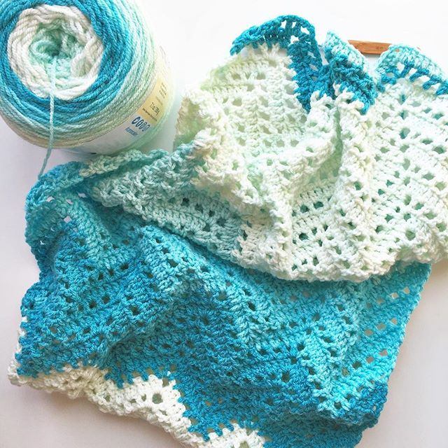 Easy Blanket Wrap Crochet Pattern | AllFreeCrochet.com