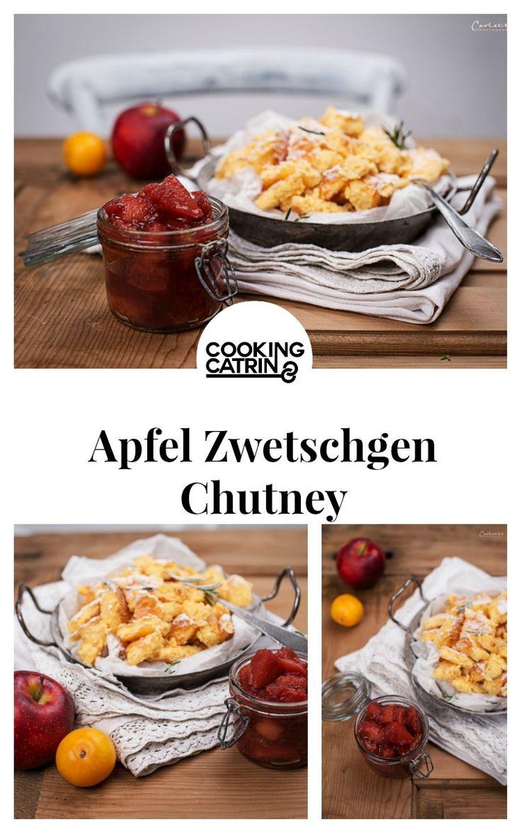 Apfel Zwetschgen Chutney, Chutney, Topfenschmarren, Schmarren, Traditionsrezept,Rezept aus Österreich, Chutney Rezept, österreichische, traditional recipe, recipe from austria, austrian recipe, traditional, traditionell, apple plum chutney...http://www.cookingcatrin.at/apfel-zwetschgen-chutney-zu-topfenschmarren/