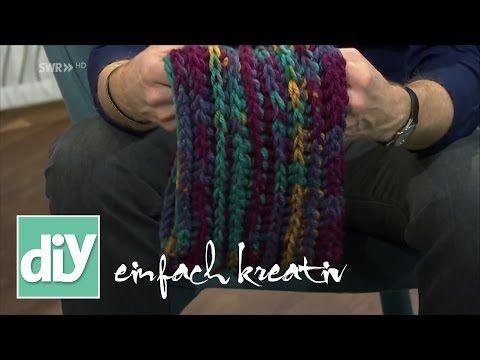 Häkelloops selbermachen I DIY einfach kreativ - YouTube | Örgü ...