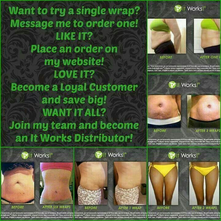 Looking for 10 people to try our Ultimate Body Applicator (WRAPS) at WHOLESALE PRICE for 90 days!   You Get Items at Wholesale pricing For THREE Months, get a $10 product credit...  Wholesale price is $59/month. You would wrap once a week for 12 weeks! First 10 people that order TODAY will get wholesale pricing! Inbox me or Call/Text (575)399-0888 and I will follow you through ordering! SEE YOUR RESULTS IN AS LITTLE AS 45 MINUTES AND PROGRESSIVE RESULTS WITHIN 72 HOURS!! For more info…