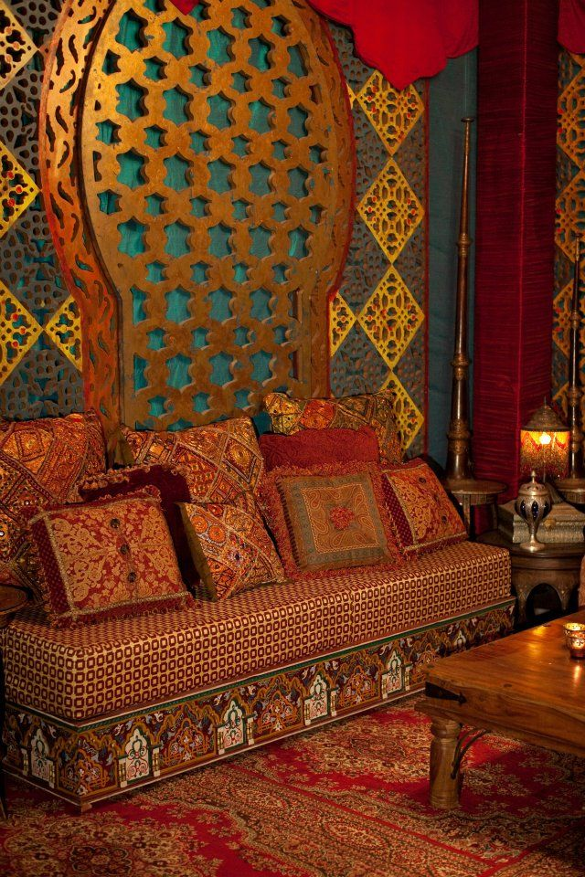 Best 25 moroccan decor ideas only on pinterest moroccan - Decoracion arabe interiores ...