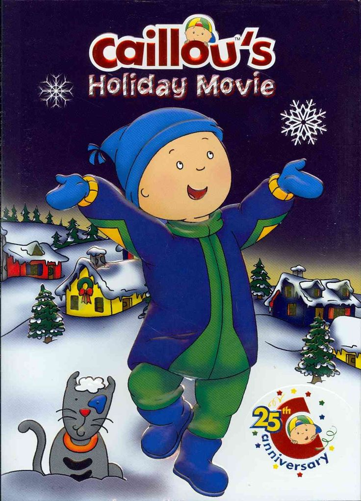The cold surge of winter comes to Caillou's house in this animated adventure, but with winter comes new responsibilities. Watch Caillou as he helps his father shovel snow, learns about the holidays of
