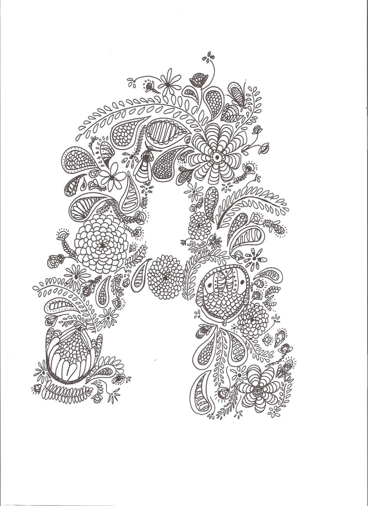 331 best Alphabet coloring images