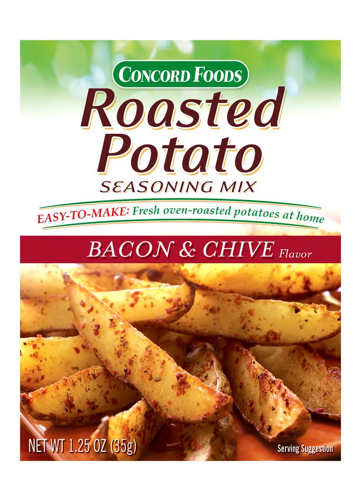 Concord Foods Roasted Potato Seasoning Mix Recipe
