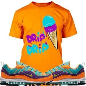 d01d707a51e Planet Grapes T-Shirt Air Max 98 Cone Sneaker Tees Shirt - DRIP DRIP ...
