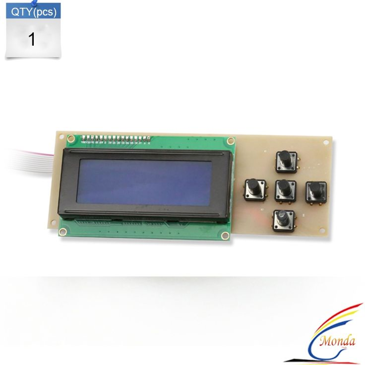 19.88$  Watch now - http://alies1.shopchina.info/go.php?t=32604802731 - 1Pcs 3D Printer Smart Controller RAMPS 1.4 12864 LCD 2004 Control Panel Blue Screen Plug Play LCD Screen Display Monitor  #aliexpress