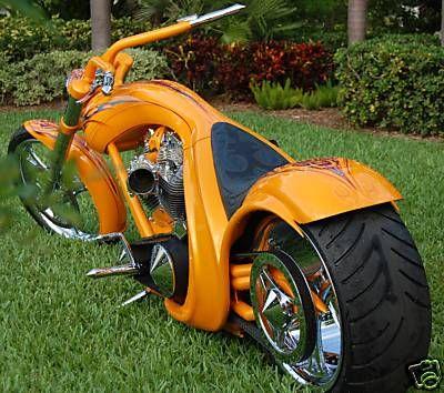 Big Orange | Motorbike | Totally Rad Choppers