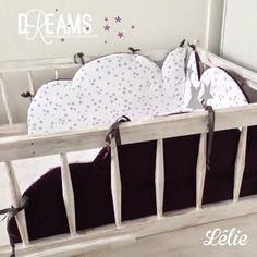 sur commande tour de lit nuage b b pinterest tour. Black Bedroom Furniture Sets. Home Design Ideas