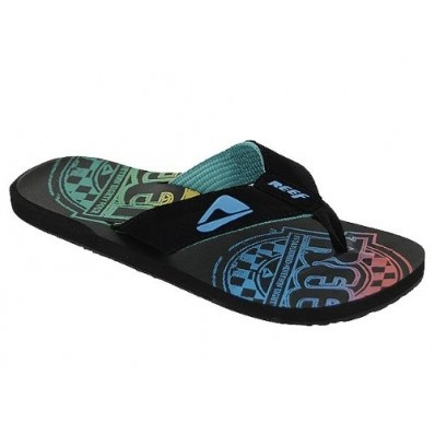 Reef HT Prints Black Multi at Flopestore Malaysia, www.flopstore.my