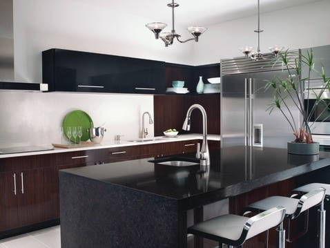 Inspired by nature, Kiran is organic in shape with subtle crisp edges tapering upward to provide a touch of modernity.